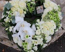 Côté Fleurs Création - MABLY - Le cœur