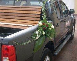 Côté Fleurs Création - MABLY - La déco de voiture de côté fleurs création