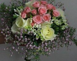 Côté Fleurs Création - MABLY - Le bouquet de la mariée de côté fleurs création